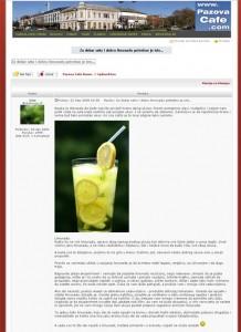 Изглед чланка на форуму PazovaCaffe, који је украден са овог блога