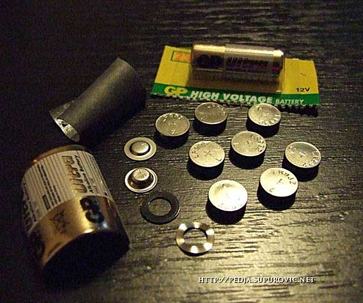 dugmasta baterija