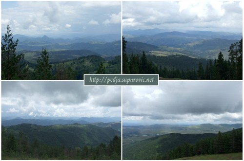 Sights from Tornik, Zlatibor