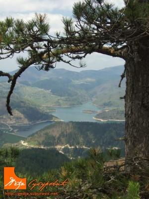 Planina Tara, jezero Zaovine