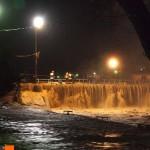 uzice-poplava-najveći slap na brani ikada