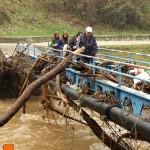uzice-poplava-mali plavi most zakrčen nanosom