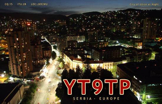 YT9TP QSL