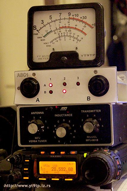 Пеђа Супуровић, бележница » Remote Controlled Antenna Switch