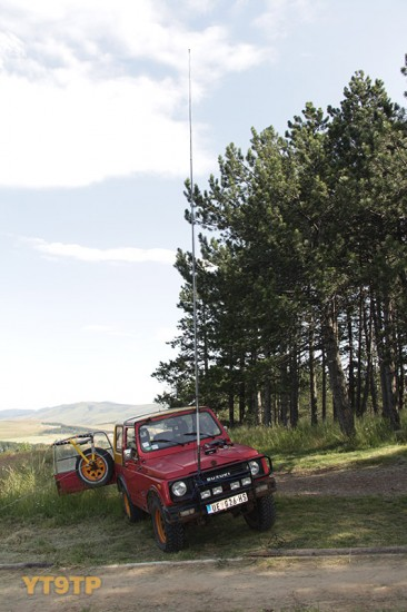 portabl vertikalna antena